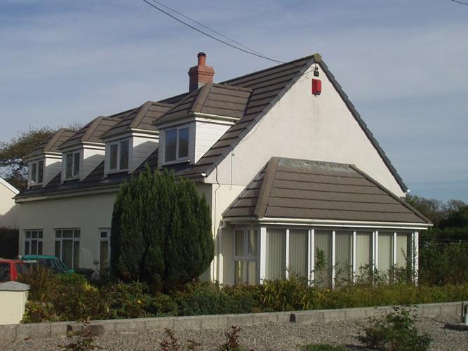 Extended house near Penzance